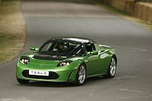 Tesla Roadster (credit: wikipedia)