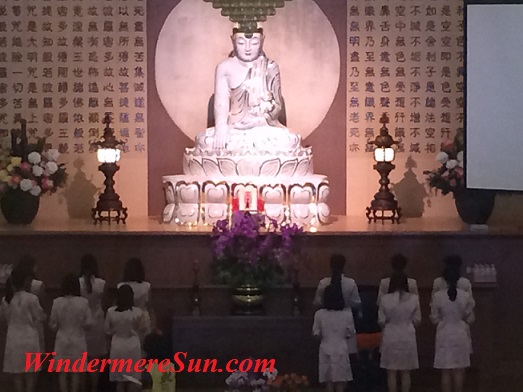 Guangyin (bodhisattva) or Goddess of Mercy or Compassion (photographed by Windermere Sun-Susan Sun Nunamaker)