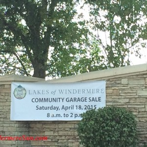 Lakes of Windermere Community Garage Sale (credit: Windermere Sun-Susan Sun Nunamaker)