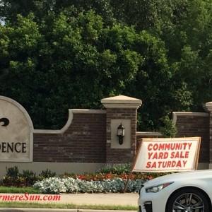 Upcoming Community Yard Sale of Providence (in Windermere, FL) (credit: Windermere Sun-Susan Sun Nunamaker)