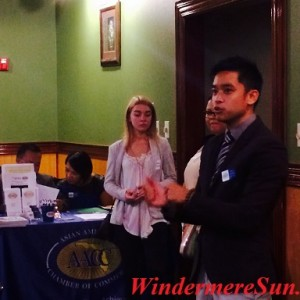 AACC (Asian American Chamber of Commerce) Speet Networking event (credit: Windermere Sun-Susan Sun Nunamaker)