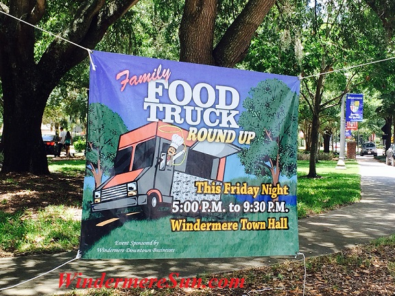 Food Truck Round Up on Friday, 6/26/2015, 5:00-9:30 P.M., at Windermere Town Hall (credit: Windermere Sun-Susan Sun Nunamaker)