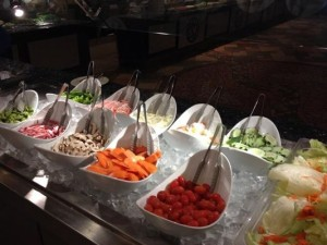 Koy Wan Hibachi Buffet-salad bar