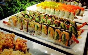 Koy Wan Hibachi Buffet-shrimp tempura roll