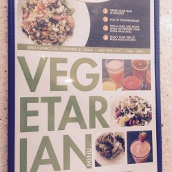 Fresh Made Kitchen-vegetarian menu (credit: Windermere Sun-Susan Sun Nunamaker)