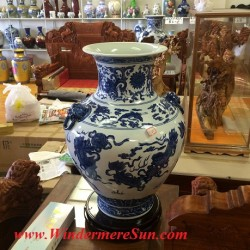 Chinese Fine Ceramics Shop near First Oriental Supermarket in Orlando (Attrib: Windermere Sun-Susan Sun Nunamaker)