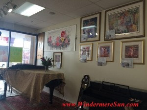 Tai Shen Book Bar piano paintings (credit: Windermere Sun-Susan SUn Nunamaker)