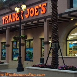 Trader Joe's-sign (credit: Windermere Sun-Susan Sun Nunamaker)