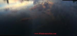 Windermere Sunset-reflection (credit: WIndermere Sun-Susan Sun Nunamaker)