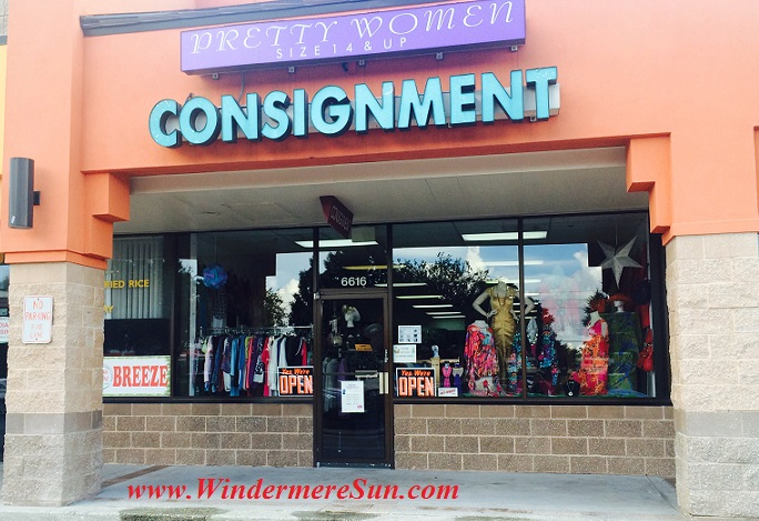 Pretty Women Consignment (Oakhill Village Shopping Plaza, 6616 Old Winter Garden Road Orlando, FL 32835 Phone: (407) 447-1023