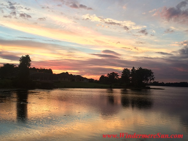 Windermere/Central Florida Sunset (credit: Windermere Sun-Susan Sun Nunamaker)