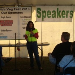 Speakers to present topics on healthy life style also available at Central Florida Veg Fest
