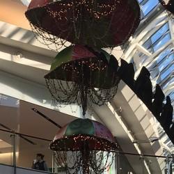 Holiday Decore at Millenia Mall (credit: Windermere Sun-Susan Sun Nunamaker)