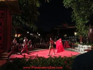 Disney-Chinese Acrobats at Epcot (credit: Windermere Sun-Susan Sun Nunamaker
