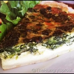 Le Cafe de Paris-spinach quiche