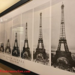 Le Cafe de Paris, 5170 Dr. Phillips Blvd., Orlando, FL , 407-293-2326 -le tour Eiffel (credit: Windermere Sun-Susan Sun Nunamaker)