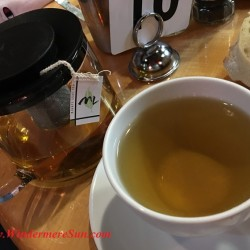 Tea & tea pot of Le Cafe de Paris , 5170 Dr. Phillips Blvd., Orlando, FL , 407-293-2326 (credit: Windermere Sun-Susan Sun Nunamaker)