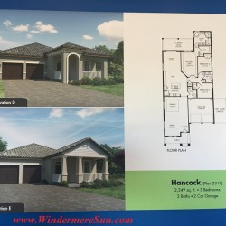 Meritage Homes-Hancock plan