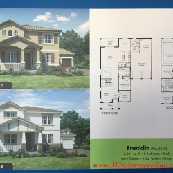 Meritage Homes' plan for Franklin