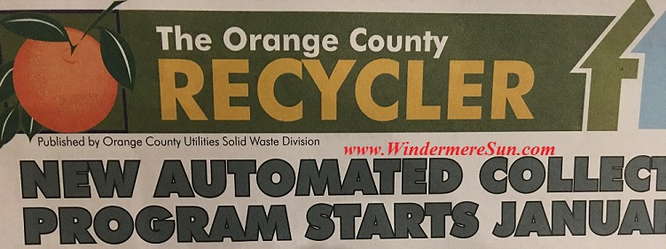 Orange County Recycler Solid Waste Division
