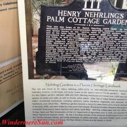 12th Annual Windermere Treebute- Nehrling Gardens Booth (credit: Windermere Sun-Susan Sun Nunamaker)