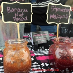 Unusual flavors such as banana nut bread or strawberry margarita may be found at Sweet Baby Girl Company's Jams (credit: Windermere Sun-Susan Sun Nunamaker)