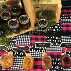 Great variety of flavorful jams (credit: Windermere Sun-Susan Sun Nunamaker)