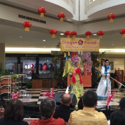 Chinese (Cantonese) Opera Lunar New Year celebration at Fashion Square Mall of Orlando, FL (credit: Windermere Sun-Susan Sun Nunamaker)