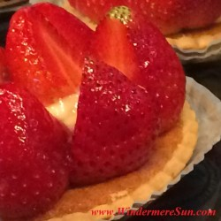 My French Cafe-Strawberry Tart (credit: Windermere Sun-Susan Sun Nunamaker)