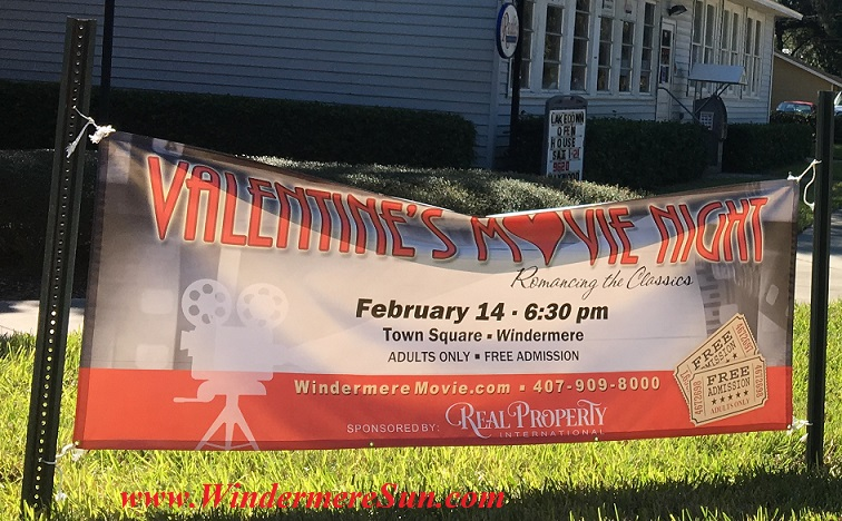 Valentine movie night in Windermere final
