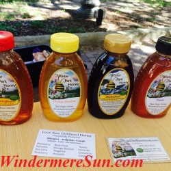 Winter Park Honey at Windermere Farmer's Market (credit: Windermere Sun-Susan Sun Nunamaker)