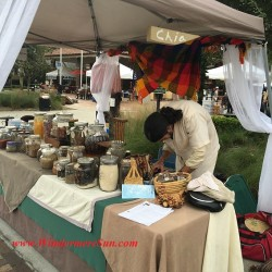 Paul Andrews at Winter Garden Farmer's Market For Mother n Son's Caca Booth For Earth Medicine/Health (credit: Windermere Sun-Susan Sun Nunamaker)