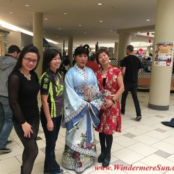 Lunar New Year celebration at Fashion Square Mall of Orlando, FL (credit: Windermere Sun-Susan Sun Nunamaker)