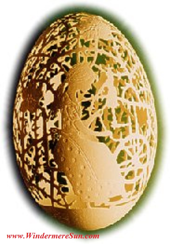 Easter-Perforated egg from Germany, Sleepingbeauty Pub Do final