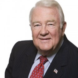 Attorney General of President Reagan, Edwin Meese III, Husband of The Meester Bunny (Ursula Meese) CC Author Edwin Meese III