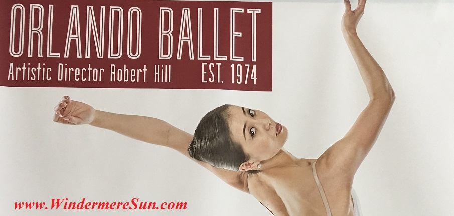 Orlando Ballet School South Campus 40 year top poster at 7988 Via Dellagio Way, Suite 204., Orlando, FL final