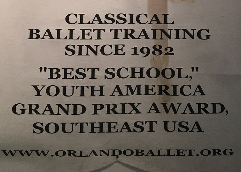 Orlando Ballet School South Campus registration poster 3 at 7988 Via Dellagio Way, Suite 204., Orlando, FL final