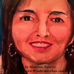 Art Show of Windermere Prep School- art work4 of Mauricio Taveres (photographed by Windermere Sun-Susan Sun Nunamaker)