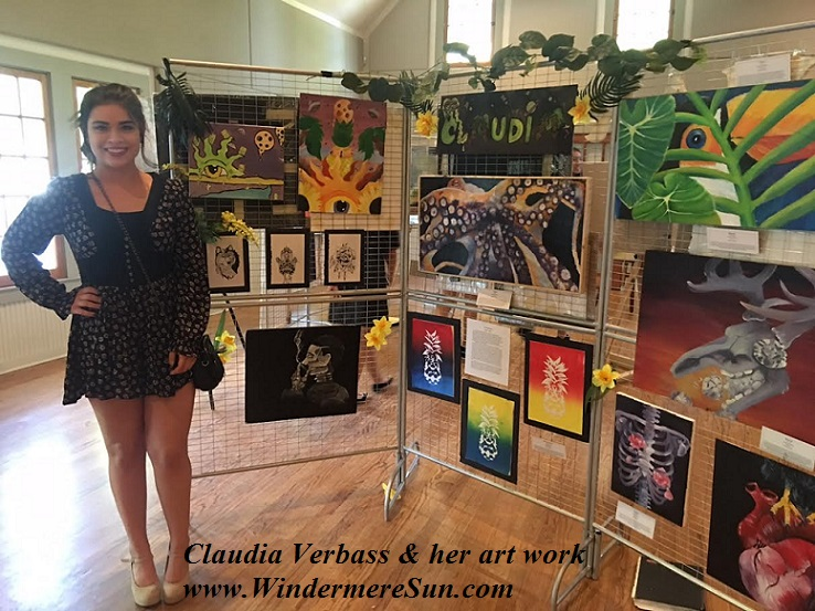 Art Show of Windermere Prep School- student artist Claudia Verbass 1 final