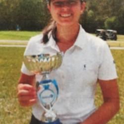 Ami Gianchandani from Short Hills, N.J., 1st place at Jacksonville Junior Shootout of Hurricane Junior Golf Tour-Girls 14-18 Division (credit: HJGT)