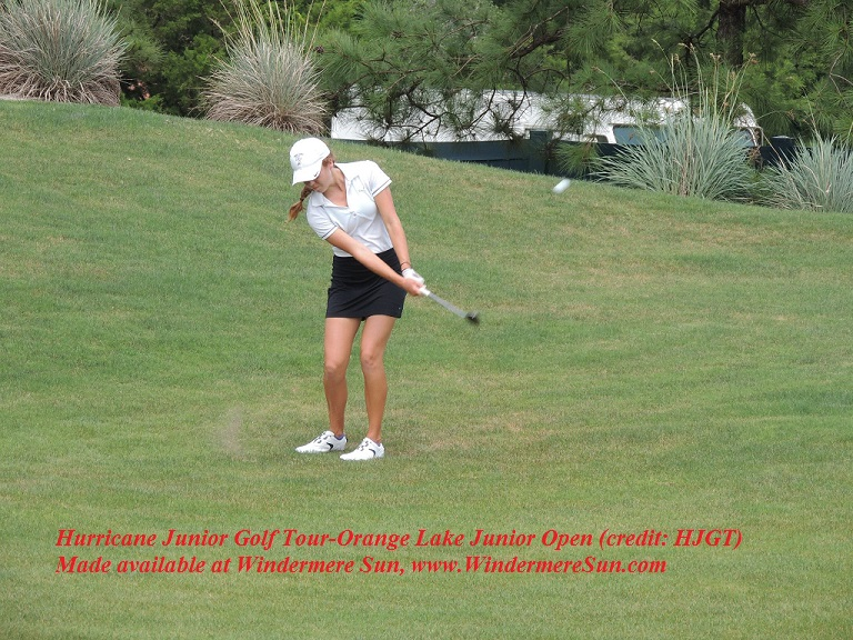 Hurricane junior golf tour-OrangeLakeJrOpen of previous year (credit: HJGT)