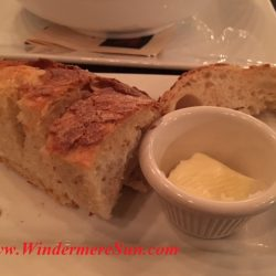 K Restaurant-Delicious Home-made Bread & Butter (credit: Windermere Sun-Susan Sun Nunamaker)