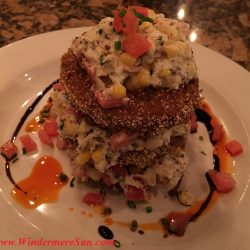 K Restaurant-Deviled Egg (credit: Windermere Sun-Susan Sun Nunamaker)