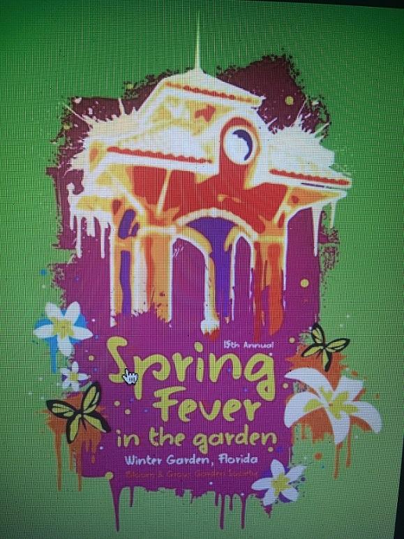 Spring Fever In The Garden logo
