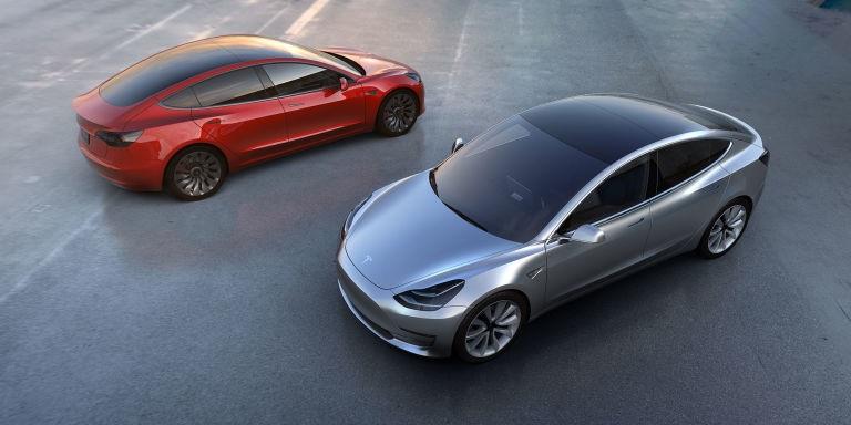 Tesla Model 3 (credit: Tesla)