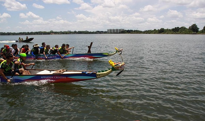 CHARGE Orlando Dragon Boat Race1 final