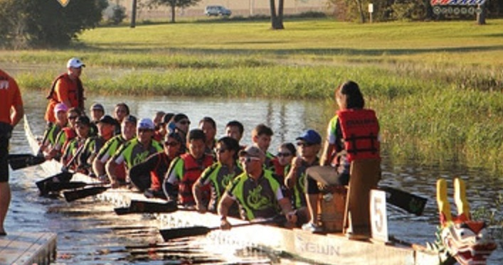 CHARGE Orlando Dragon Boat Race2 final