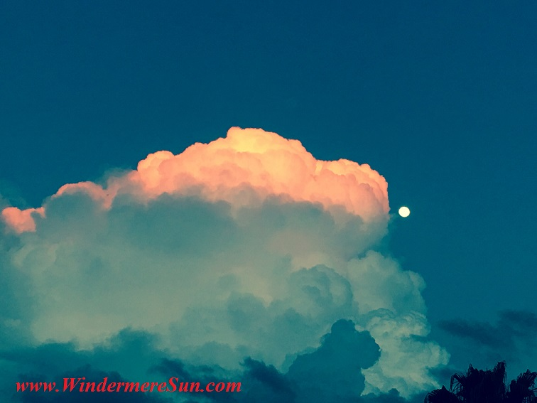 Florida Cloud-cloud and moon are kissing (credit: Windermere Sun-Susan Sun Nunamaker)