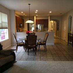Open concept in kitchen-eat in area-family room is very spacious! (photo credit: Windermere Sun-Susan Sun Nunamaker)