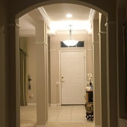 Entryway of 12907 Freeman, Windermere, FL (photo credit: Windermere Sun-Susan Sun Nunamaker)